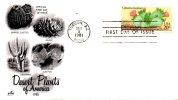 USA. N°1370 De 1981 Sur Enveloppe 1er Jour. Cactus. - Sukkulenten
