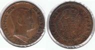 ESPAÑA FERNANDO VII 80 REALES MADRID PRUEBA DE COBRE O FALSA 1822 Q - [ 1] …-1931 : Reino