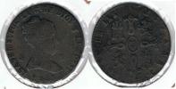 ESPAÑA ISABEL II 8  MARAVEDI JUBIA  1843 Q. EXCASA - [ 1] …-1931 : Reino