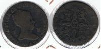 ESPAÑA ISABEL II 8  MARAVEDI JUBIA  1843 Q2 EXCASA - [ 1] …-1931 : Reino