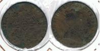 ESPAÑA ISABEL II 8  MARAVEDI SEGOVIA 1840 Q. EXCASA - [ 1] …-1931 : Reino
