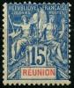 Reunion (1892) N 37 * (charniere)