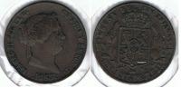 ESPAÑA ISABEL II 25 CENTIMOS REAL SEGOVIA 1863 Q - [ 1] …-1931 : Reino