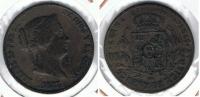 ESPAÑA ISABEL II 25 CENTIMOS REAL SEGOVIA 1863 Q2 - [ 1] …-1931 : Reino