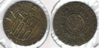 ESPAÑA ISABEL II PROCLAMACION  SEGOVIA 1833 Q RARA - [ 1] …-1931 : Reino