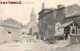 SAINT-JUIRE LA GRANDE RUE ANIMEE 85 VENDEE - Saint Jean De Monts