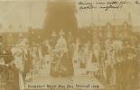 CARTE PHOTO KNUTSFORD ROYAL MAY DAY FESTIVAL 1908 ENFANTS ANGLAIS - Non Classés