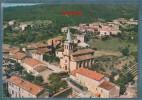 07-ST(SAINT)-PAUL-LE-JEUNE-Vue Aérienne-le Quartier De L'église- Non écrite -2 Scans -10.5 X 15 - CIM COMBIER - France