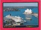 Sydney Cove And Liner Crystal Harmorny,Sydney,N.S.W.,Australia,Posted With Stamp, L28. - Sydney