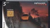 SVIZZERA - SWISS TELECOM   Taxcard 5 CHF Used / Usata - Suisse