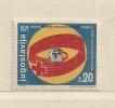 YOUGOSLAVIE  ( EU - 156 )  1971  N° YVERT ET TELLIER   N° 60   N** - Beneficiencia (Sellos De)