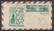 1109 - AVION (PLANE) POSTE AERIENNE (airmail) USA - Premier Vol (first Flight) - 1949 AM 33 KAILUA - Poste Aérienne