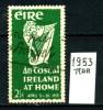 IRLANDA - EIRE -year 1953 - Usato -used . - 1949-... Repubblica D'Irlanda