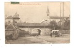 CPA 78 ROSNY SUR SEINE Pont Du Chemin De Fer & Eglise - Rosny Sur Seine
