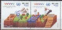 Brasil 2015 ** Conferencia Mundial ONU Reduccion De Riesgos De Desastres. See Desc. - Unused Stamps