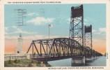 Interstate Highway Bridge Over Columbia River Between Portland O