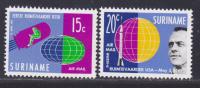 SURINAM AERIENS N°   26 & 27 ** MNH Neufs Sans Charnière, TB  (D690) Cosmos, Les Premiers Cosmonautes - Surinam ... - 1975