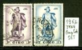 IRLANDA - EIRE -year 1956 - Complet  Set - Usato -used . - 1949-... Repubblica D'Irlanda