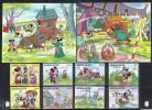 DISNEY -SIERRA LEONA 1986-  Yver# 751/58 H85/86 Precio Cat€27 - Disney