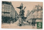 Cpa 59 - Lille - Monument Testelain - Les Motifs De Bronze Enlevés Par Les Allemands - Lille