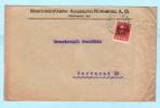 BAYERN - DEUTSCHES REICH Brief Cover - Maschinenfabrik Augsburg Nürnberg A.G. - Gewerkschaft Dorstfeld  (32549) - Bayern