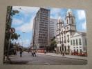 Recife, Pernambuco. Vista Parcial Da Avenida Dantas Barreto Com A Matriz De Santo Antonio - Recife