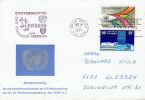 UN New York - Umschlag Echt Gelaufen / Cover Used (k349) - Non Classés