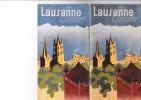 DEPLIANT TOURISTIQUE - LAUSANNE OUCHY-  28 PAGES TEXTES ET PHOTOS - Dépliants Touristiques