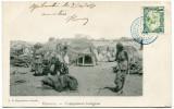 COTE FRANCAISE DES SOMALIS CARTE POSTALE DEPART DJIBOUTI 3 OCT 04 POUR LA FRANCE - Côte Française Des Somalis (1894-1967)