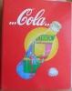 RACCOGLITORE CON 38 FOGLI INTERNI DI PLASTICA - COPERTINA COLA  - - Coca-Cola