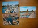 """3 Cartes De La Rochelle , Le Port Et Les Tours """" Cartes Animée """" - La Rochelle"""