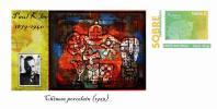 Spain 2013 - Paul Klee (1879-1940) - Special Prepaid Cover - Film