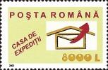 Romania 2002 / Post / Set 5 Stamps - Trains