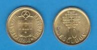 PORTUGAL  (República)  10 Escudos 1.991 Niquel-Latón  KM#633  EBC/XF    DL-11.402 - Portogallo