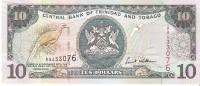Trinidad And Tobago - Pick 43b - 10 Dollars 2002 - Unc - Trinité & Tobago