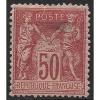 Frankreich 1890 Allegorien 81 II Mit Falz - 1876-1898 Sage (Type II)