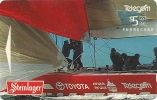 New Zealand - NZL20 Red Sled - 1995 Americas Cup - Advertising Cards - 15.500ex, 1995, Used - Neuseeland