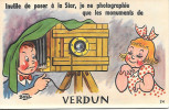 Carte Système Verdun Inutile De Poser à La Star Appareil Photo Complet Avec Dépliant Petites Photos - Verdun