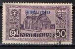ITALIA - TRIPOLITANIA - 1931 - 7° CENTENARIO ANTONIANO - VALORE DA 50 CENT. - USATO - Tripolitania