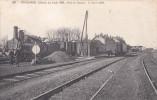 CPA  De  MOUCHARD  (39)  -  Le Train 509 - Dôle-la Suisse - 7 Mars 1906   //  TBE - France