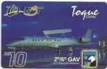 Brazil - NBT - Em Defensa Da Amazonia Plane Aircraft 3 - 08-2003, GSM Refill, Used - Brésil