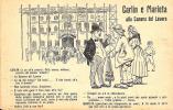 [DC4173] CARTOLINA - HUMOR PIEMONTESE - CARLIN E MARIETTA ALLA CAMERA DEL LAVORO - Non Viaggiata - Old Postcard - Humor
