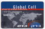 ISRAEL CARTE TELEPHONIQUE GLOBAL CALL PLANISPHERE - Israel