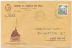 1983 FRIULI UDINE SPLENDIDA BUSTA ILLUSTRATA COMUNE DI POZZUOLO DEL FRIULI 21.12.83 AFFRANCATA CASTELLI X L.400 (6635bis - 6. 1946-.. Repubblica