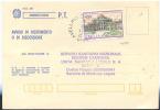 1984 VILLA REALE  L. 400 ISOLATO SU AVVISO DI RICEVIMENTO 24.10.84 OTTIMA QUALITÀ  (6655) - 6. 1946-.. Repubblica