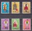 1973 - Costumes Regionaux  Mi No 3110/3115 Et Yv No 2745/2750 - 1948-.... Repúblicas