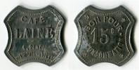 N93-0297 - Monnaie De Nécessité - Saint-Etienne - Café Lainé - 15 Centimes - Monetari / Di Necessità
