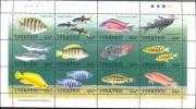 Tanzania Minisheet MNH - Fische