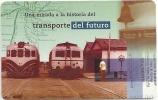 Argentina - Telefónica De Argentina - Railways - Coches Motores - 02-1998 - 100.000ex, Used - Argentina