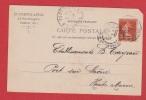 Carte Postale  --  D. Vorms Et Fils  --  Paris  --   1907 - Timbres